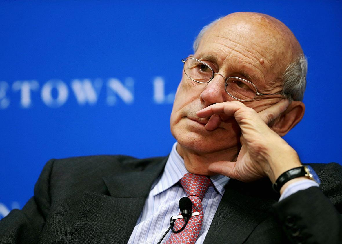 Supreme Court Associate Justice Stephen Breyer.