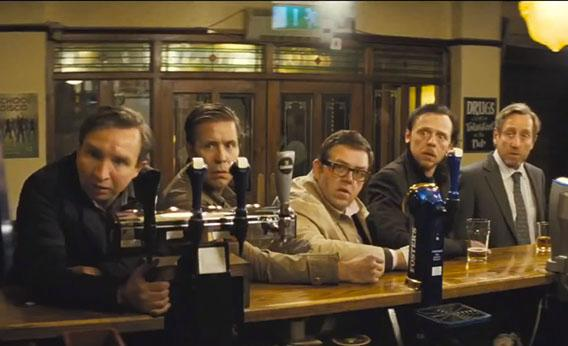 "A still from ""The World's End."""