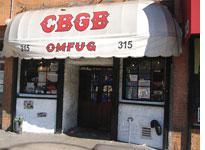 CBGB. Click image to expand.