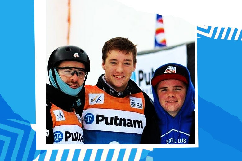 The Lillis brothers at World Cup weekend in Lake Placid.
