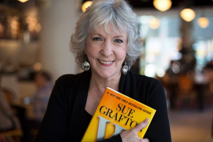 Late writer Sue Grafton