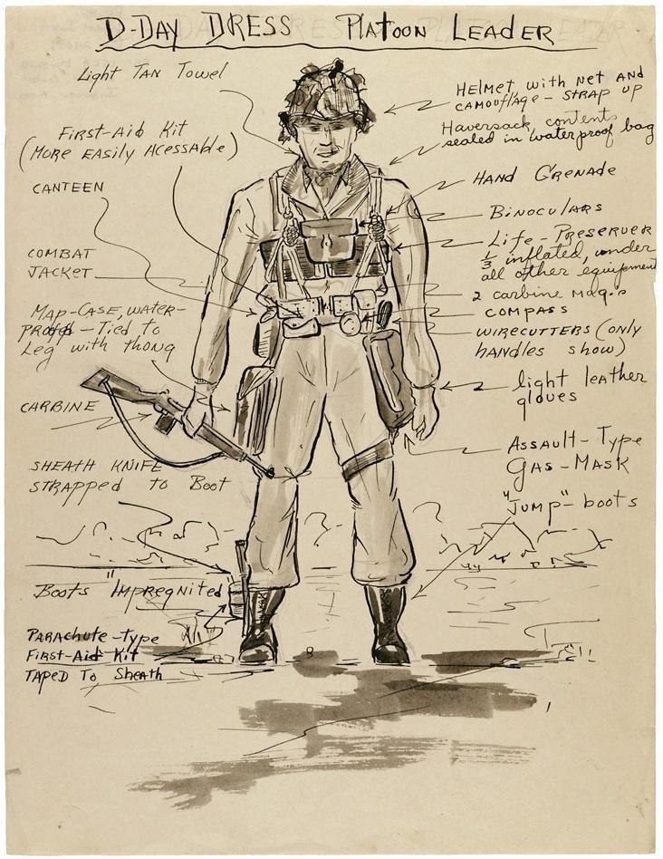 Platoon Leader Sketch