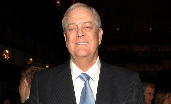 David Koch attends the 2011 New York City Opera Spring Gala.