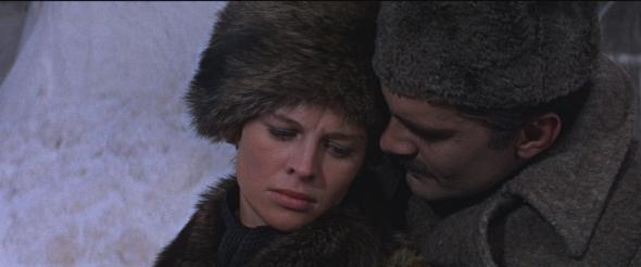 Omar Sharif and Julie Christie in Doctor Zhivago.