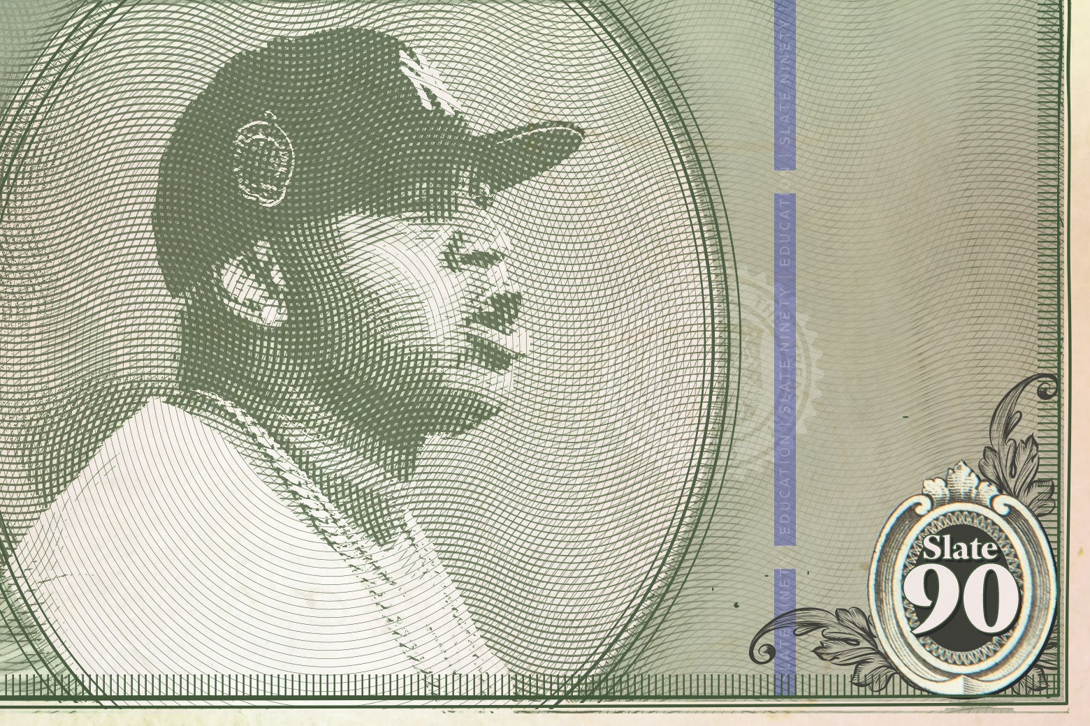 Paper currency showing LL Cool J.