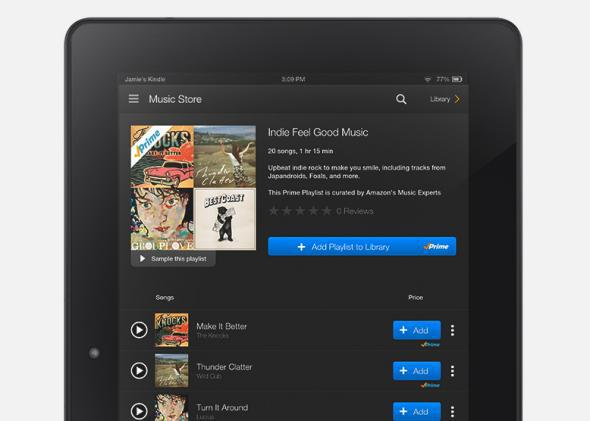 Amazon Prime Music: It's no Spotify, Beats, or Pandora, but doesn't