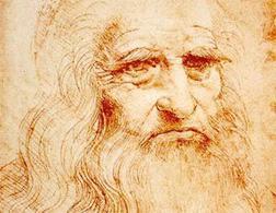 Leonardo da Vinci. Click image to expand.