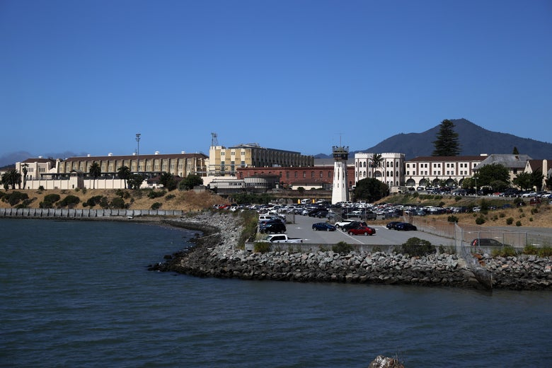A view of San Quentin State Prison