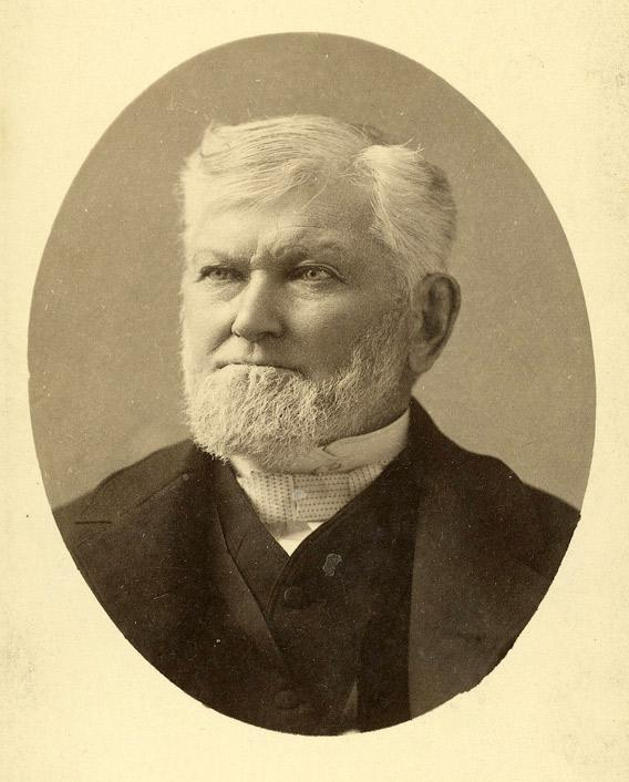 Wilford Woodruff in 1889.