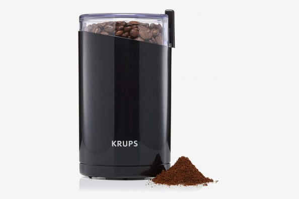 KRUPS Electric Spice and Coffee Grinder with Stainless Steel Blades.
