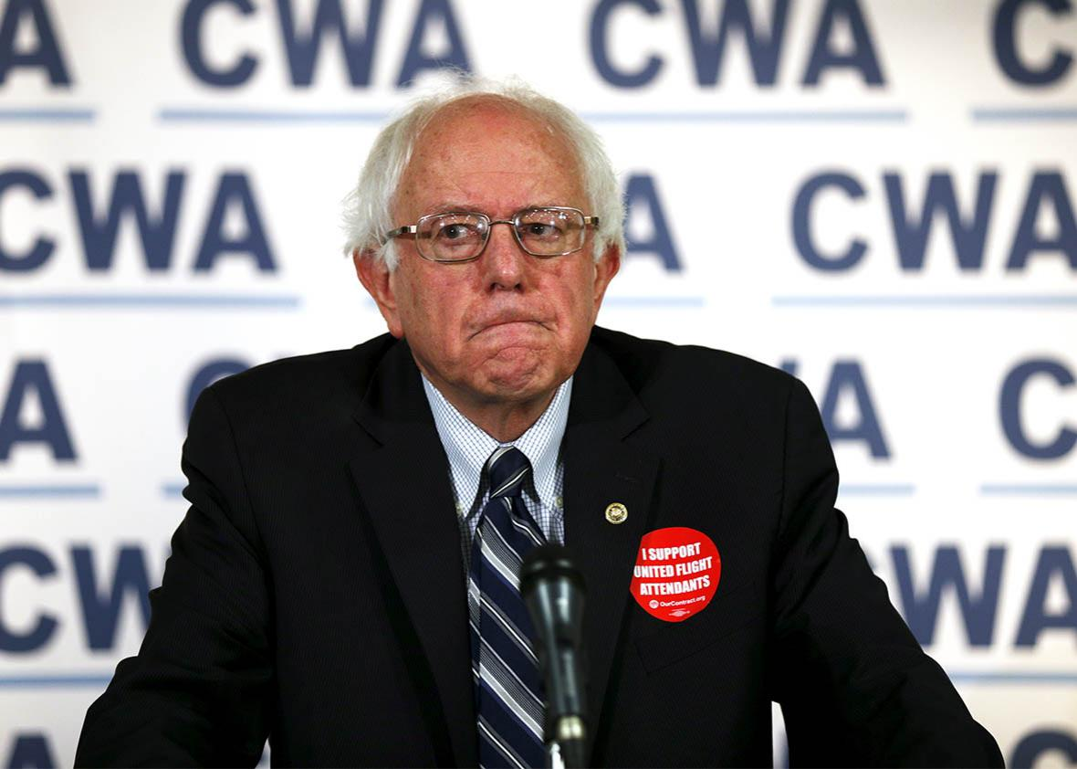 Bernie Sanders data breach.