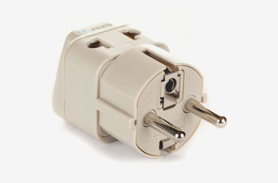 OREI European Plug Adapter Schuko Type E/F.