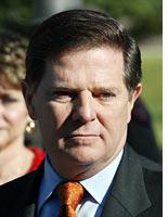 Tom DeLay, exit stage right          Click image to expand.