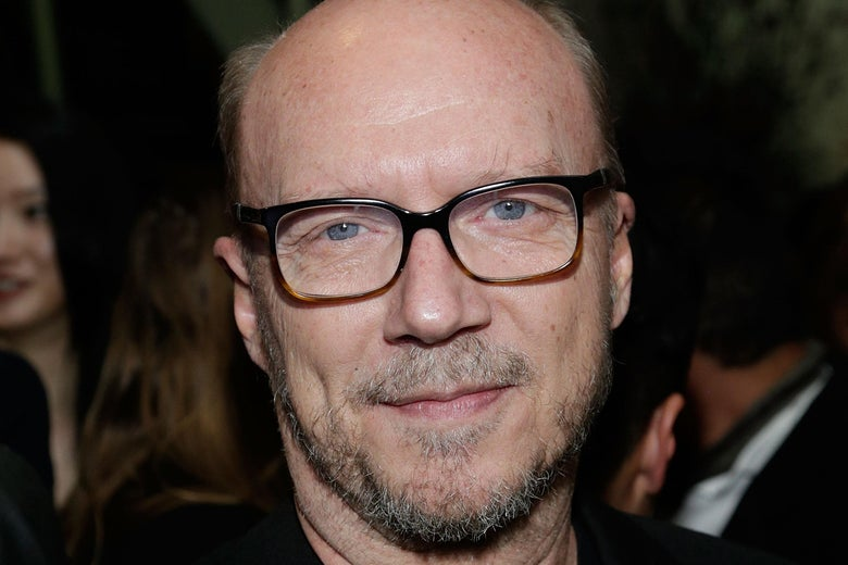 Paul Haggis at an industry event.