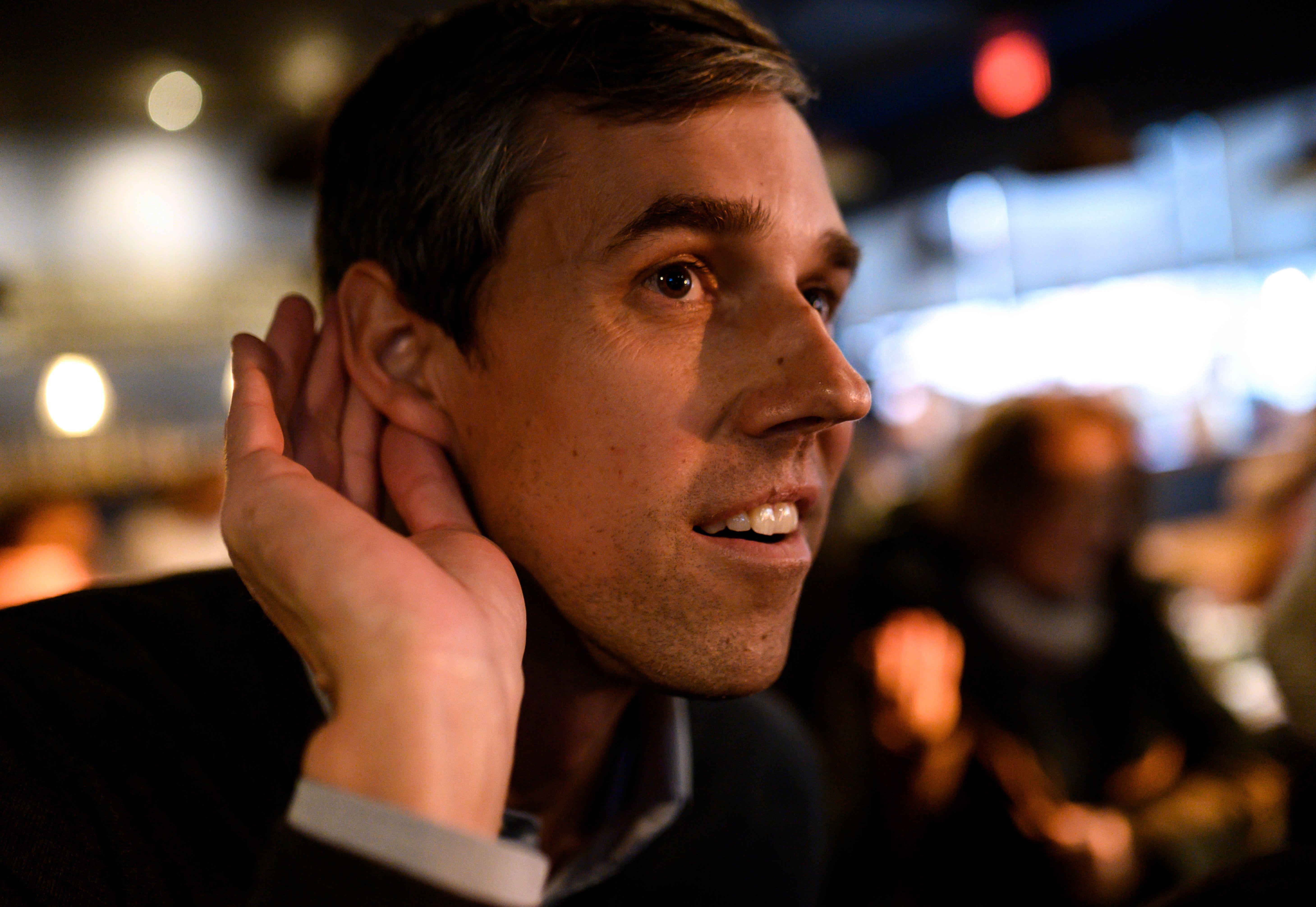 Beto O'Rourke tries to listen.