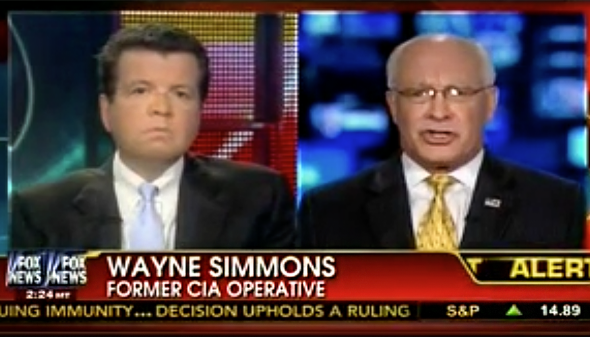 Wayne Simmons Fox News recurring guest