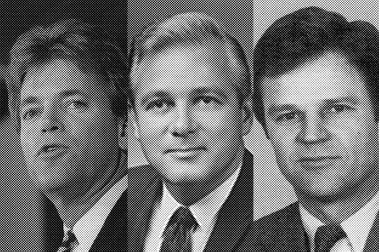 David Duke, Edwin Edwards, and Buddy Roemer.