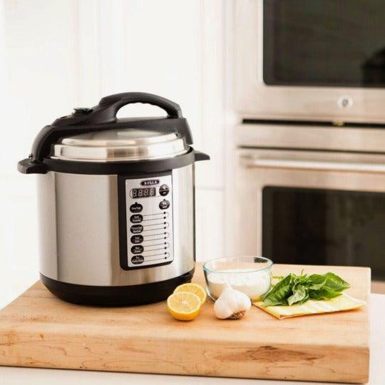 Bella 6 Qt 10-In-1 Multi-Use Programmable Pressure Cooker.