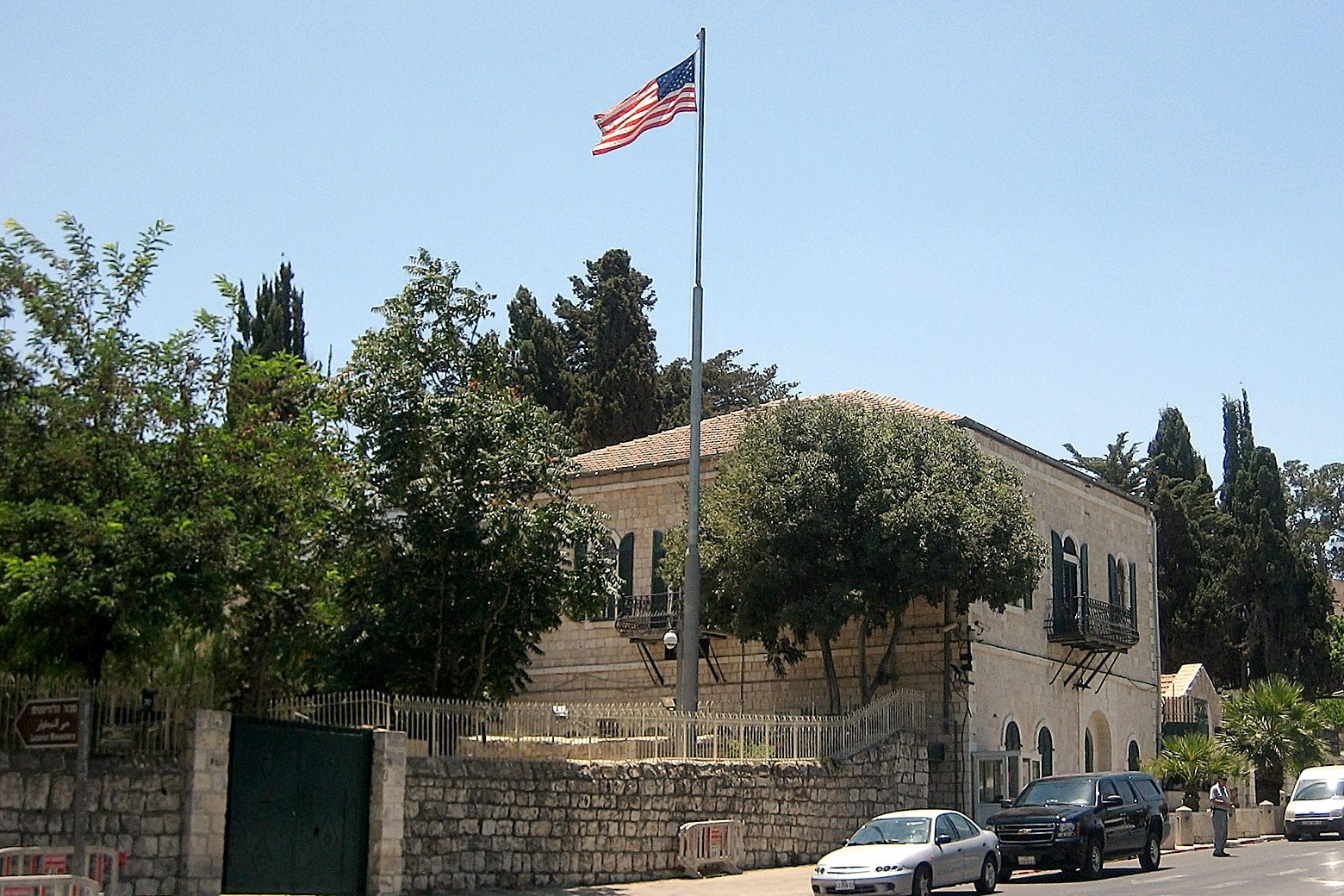 The U.S. Consulate in Jerusalem.