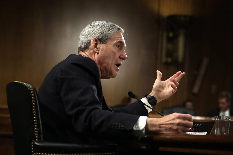 Robert Mueller testifies during a hearing before the Senate Judiciary Committee June 19, 2013 on Capitol Hill in Washington, DC.