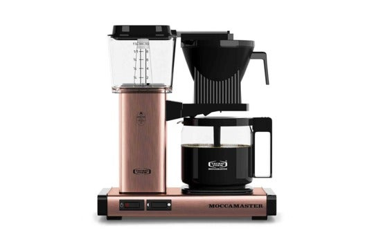 Technivorm Moccamaster coffee maker.