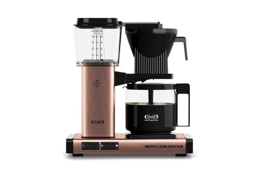 Technivorm Moccamaster coffee maker.