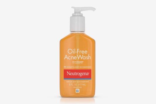 Neutrogena Oil-Free Acne Wash.