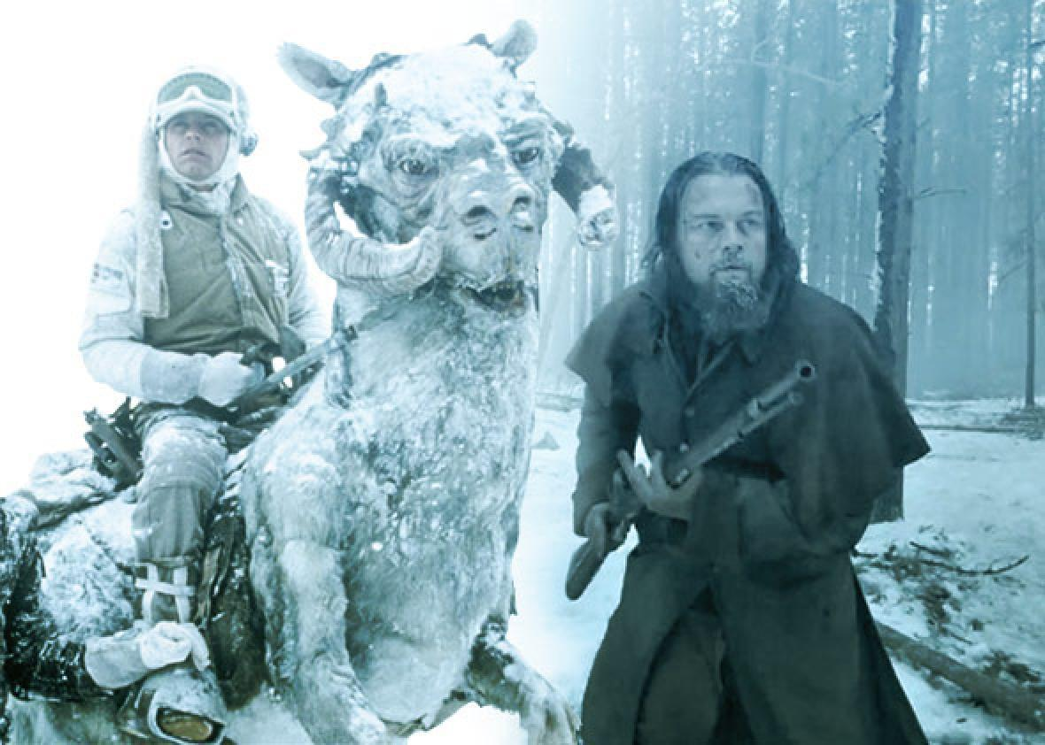"""The Revenant"" still courtesy of 20th Century FOX. ""Episode V: The Empire Strikes Back"" still courtesy of Lucasfilm Ltd. All Rights Reserved."