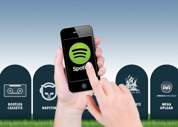 Illegal music sharing is ending: How the Internet finally