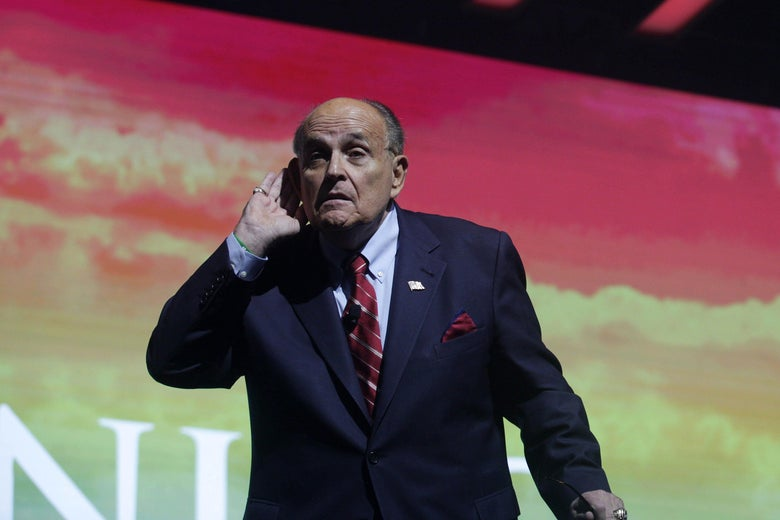 Giuliani Involved in Shadow Negotiations With Venezuela's Maduro Amid Crisis