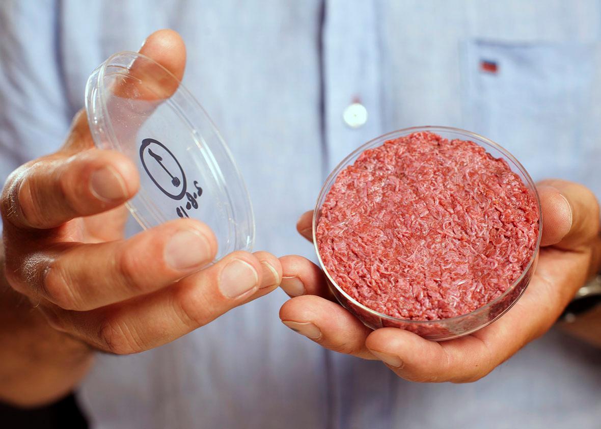 In-vitro meat.
