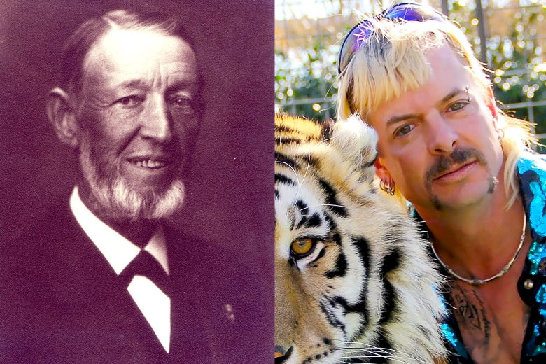 Carl Gottfried Wilhelm Heinrich Hagenbeck and Joe Exotic