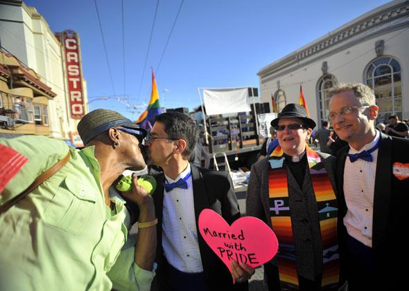 the US Supreme Court struck down The Defense of Marriage Act (DOMA), and declared that same-sex couples who are legally married deserve equal rights to the benefits under federal law that go to all other married couples.