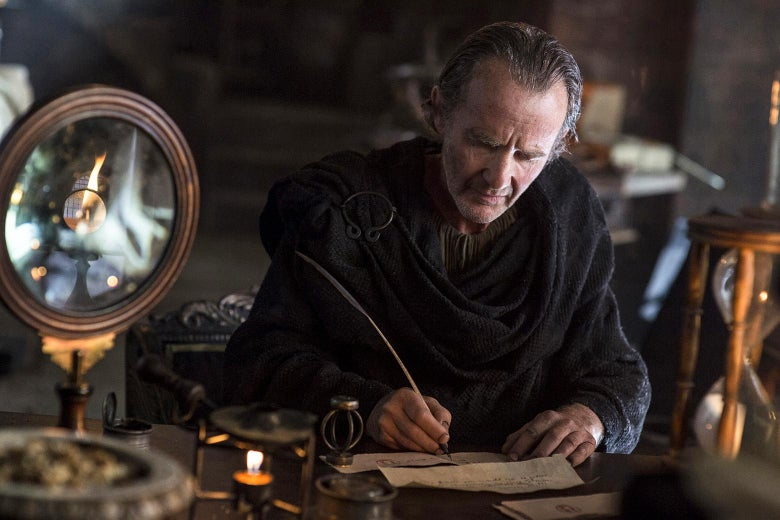 Anton Lesser as Qyburn in Game of Thrones.