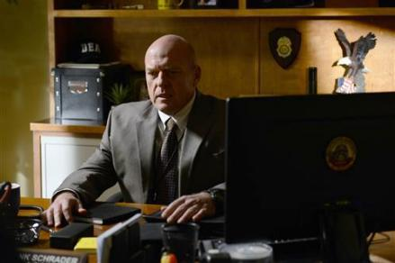 Hank Schrader (Dean Norris) in Breaking Bad.