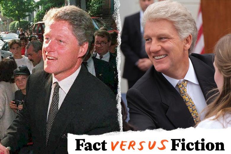Bill Clinton, Clive Owen as Bill Clinton.