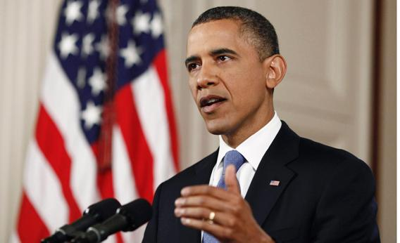 Obama Speaking.