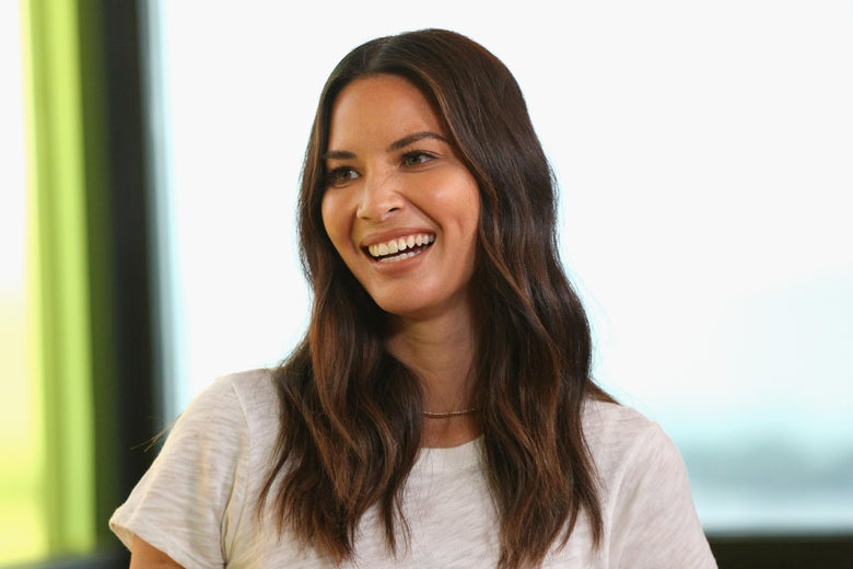 Olivia Munn, smiling at the camera.