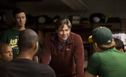 """Brad Pitt stars in """"Moneyball."""" Click image to expand."""