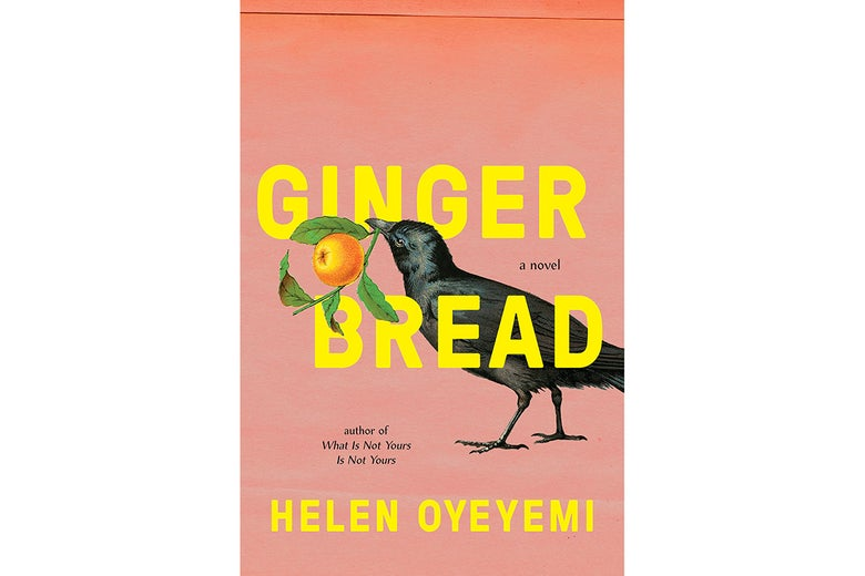 The cover of Gingerbread by Helen Oyeyemi.