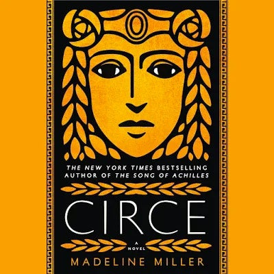Circe audiobook cover.