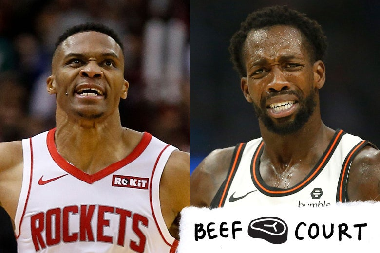 Russell Westbrook and Patrick Beverley