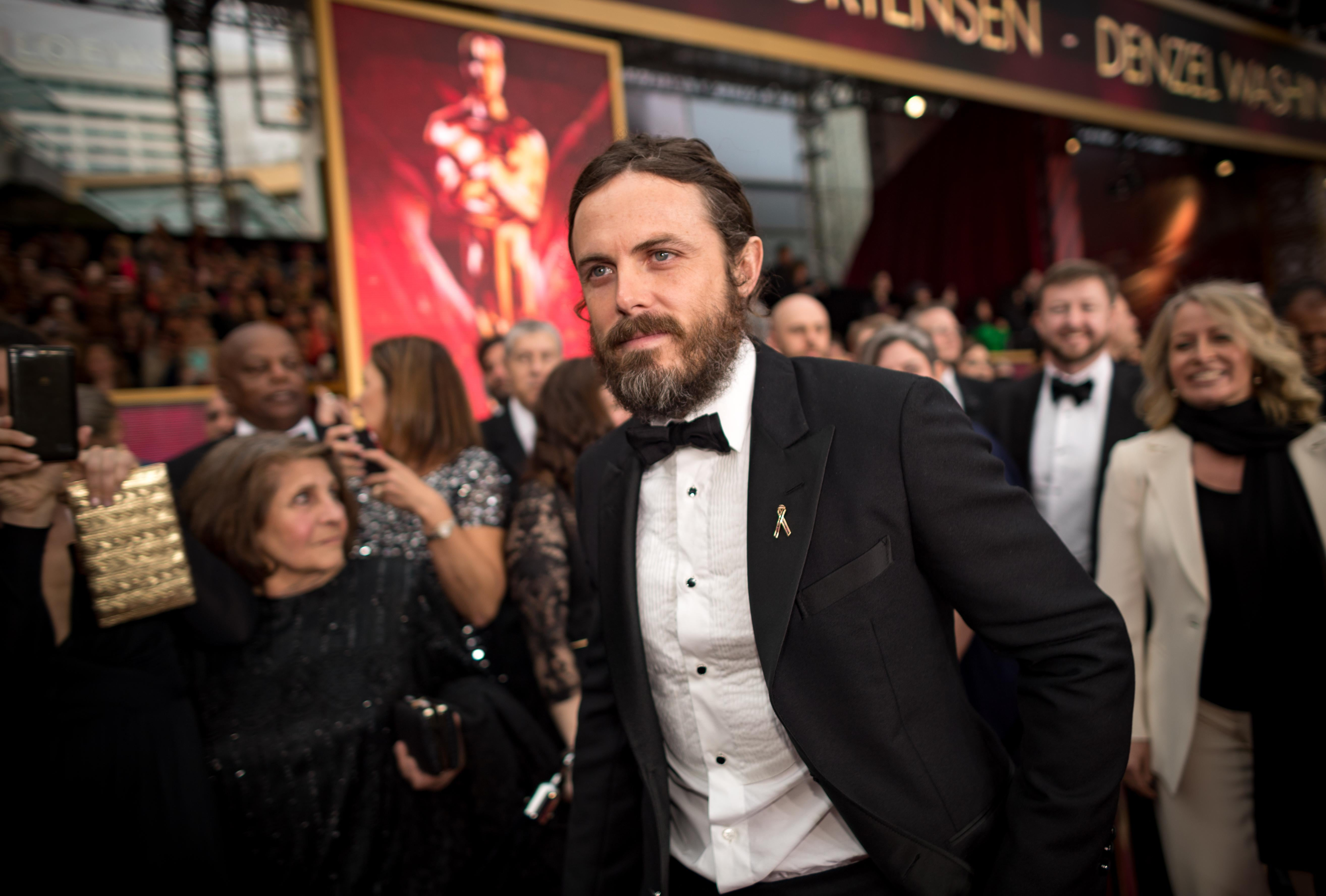 Casey Affleck attends the 89th Annual Academy Awards at Hollywood & Highland Center on Feb. 26 in Hollywood, California.