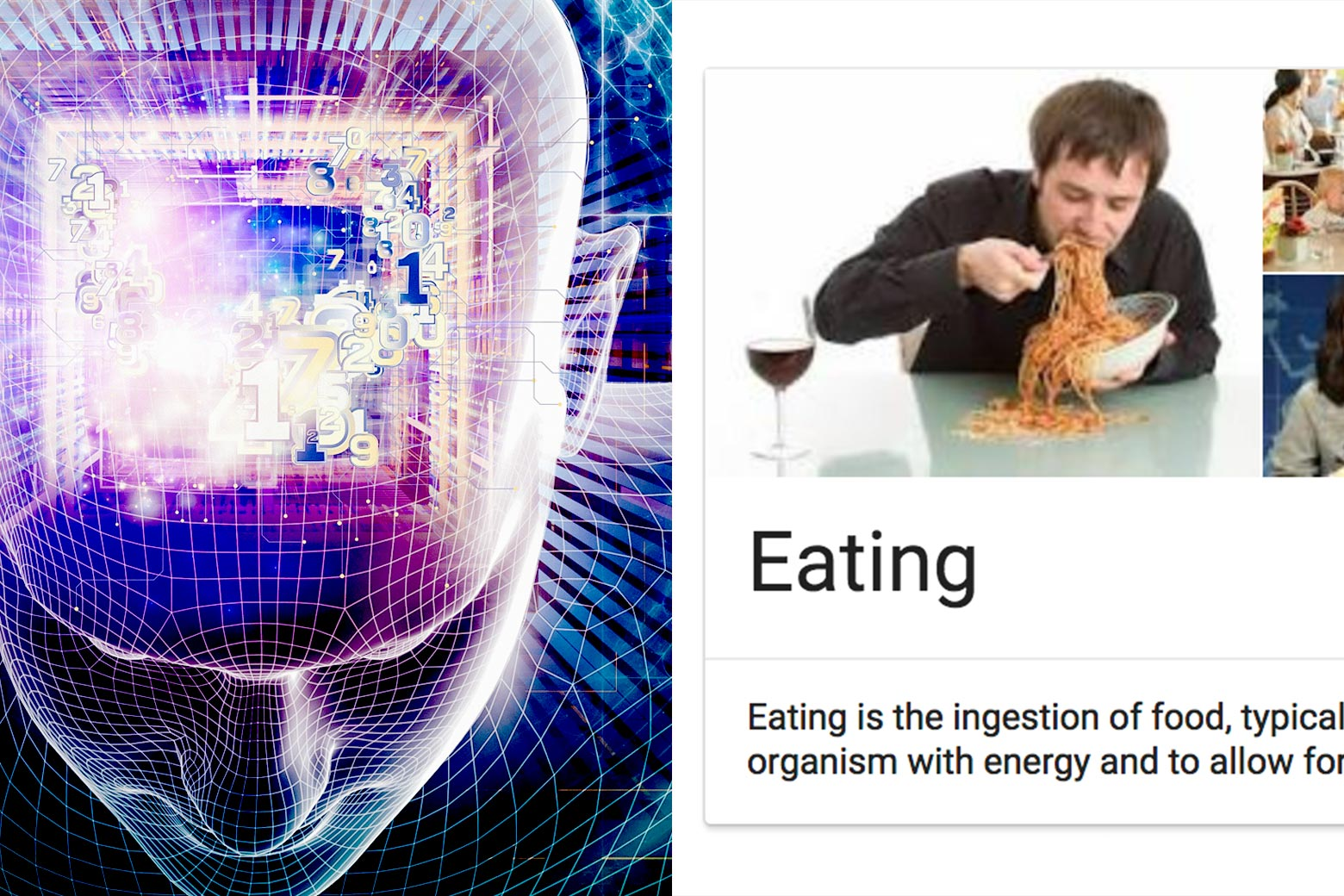 Do robots dream of electric spaghetti?