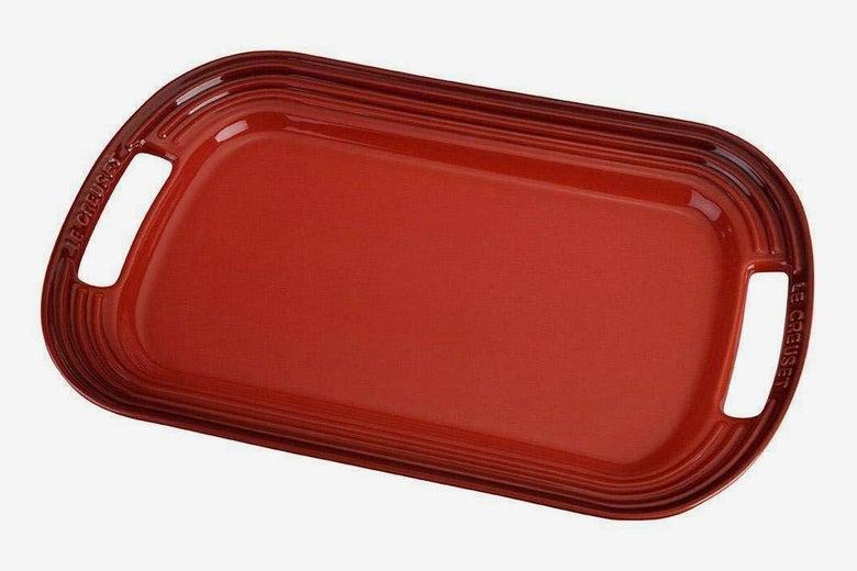 "Le Creuset Stoneware 16"" Oval Serving Platter"