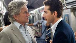 "Michael Douglas as Gordon Gekko and Shia LaBeouf as Jake Moore in         ""Wall Street 2: Money Never Sleeps."" Click image to expand."