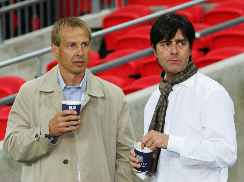 Jürgen Klinsmann and Joachim Löw