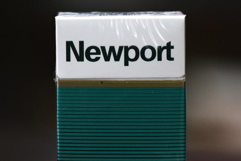 A pack of Newport menthols. Michael M. Santiago/Getty Images