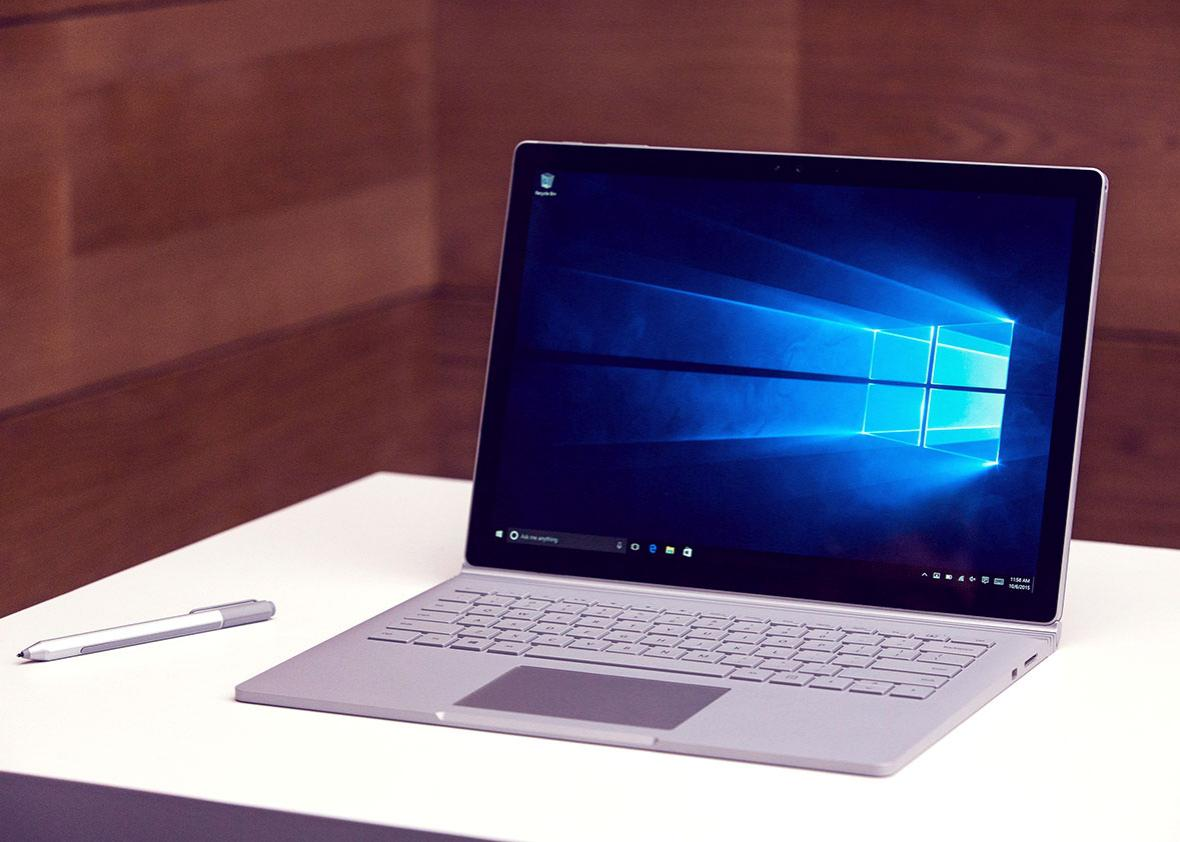 A new Microsoft Surface Book.