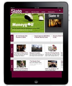 Slate iPad application.